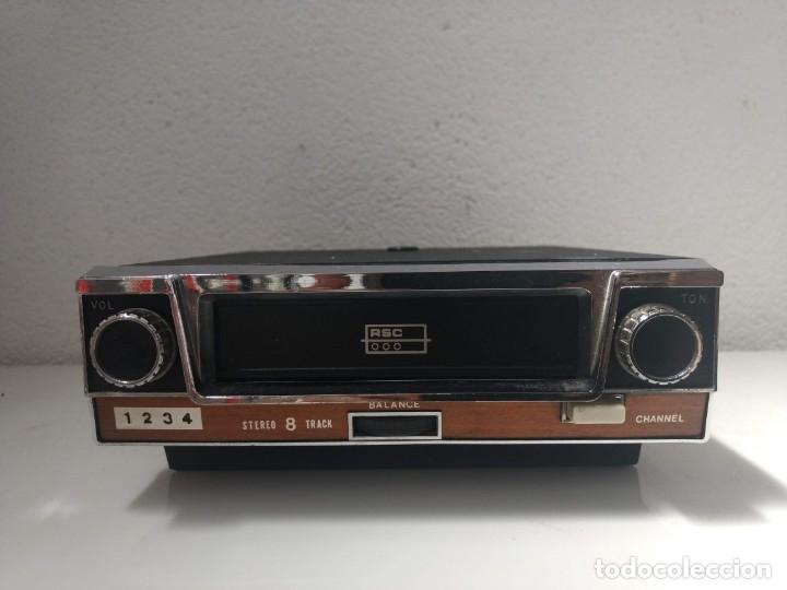 CASSETTE 8 PISTAS RSC FUNCIONANDO PERFECTAMENTE (Radios, Gramófonos, Grabadoras y Otros - Gramófonos y Gramolas)