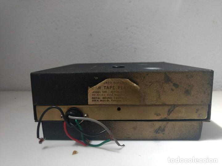 Gramófonos y gramolas: CASSETTE 8 PISTAS RSC funcionando perfectamente - Foto 4 - 177414234