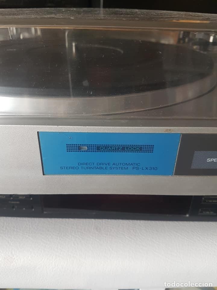 Gramófonos y gramolas: TOCADISCOS SONY PS LX 310 - Foto 6 - 177421877