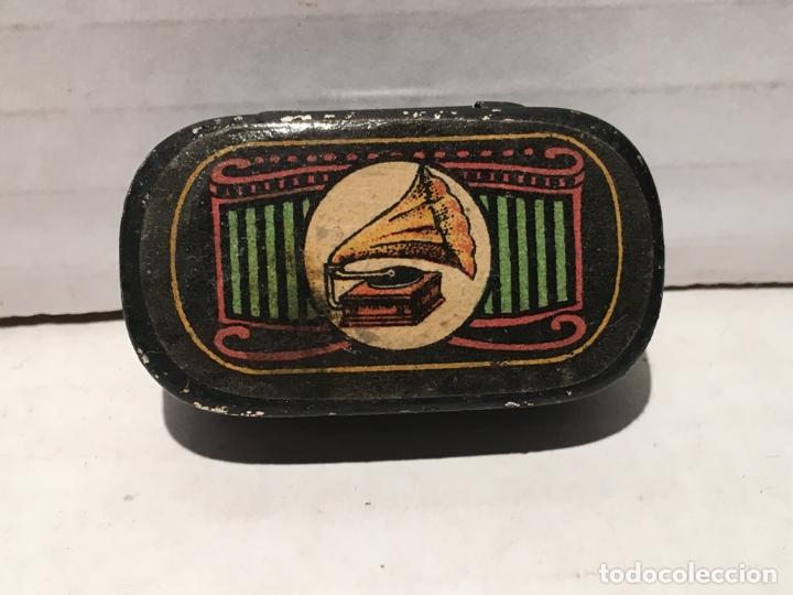 ANTIGUA CAJA DE AGUJAS DE GRAMOFONO (Radios, Gramófonos, Grabadoras y Otros - Gramófonos y Gramolas)