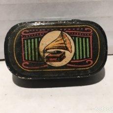 Gramófonos y gramolas: ANTIGUA CAJA DE AGUJAS DE GRAMOFONO . Lote 177842404