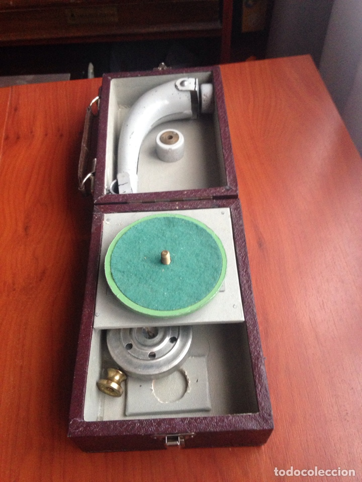 Gramófonos y gramolas: Gramofono ccc cursos fino bilingüe - Foto 2 - 178594778
