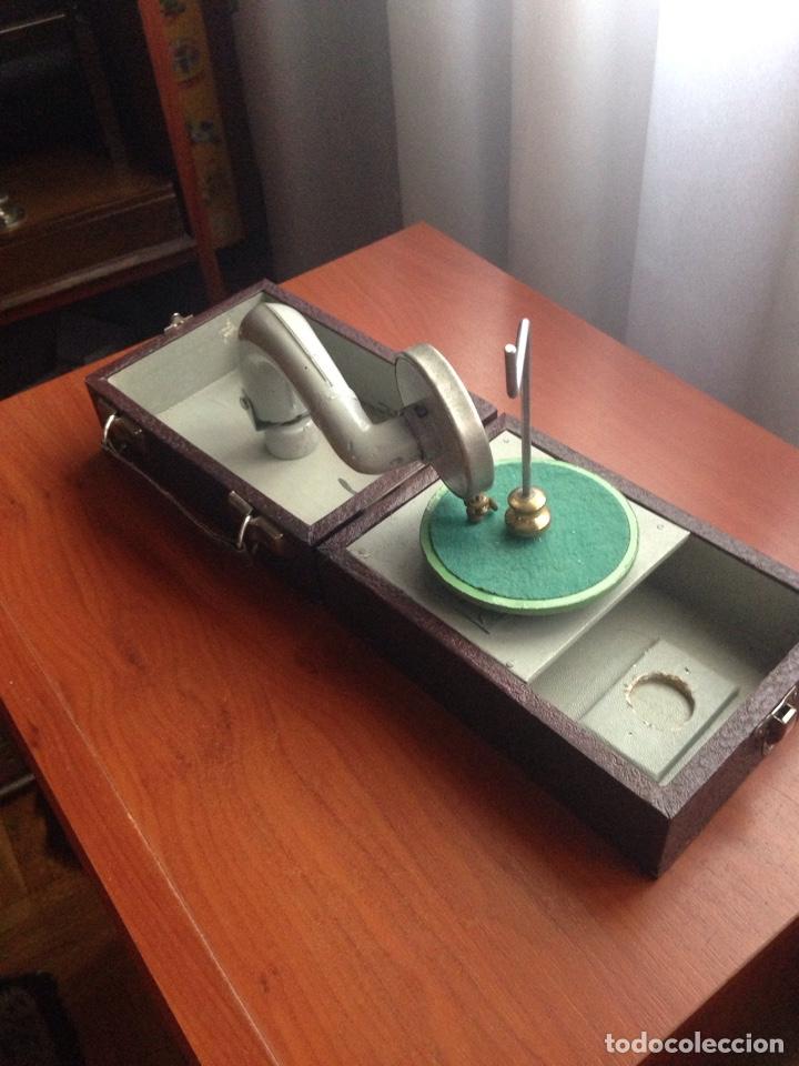 Gramófonos y gramolas: Gramofono ccc cursos fino bilingüe - Foto 3 - 178594778