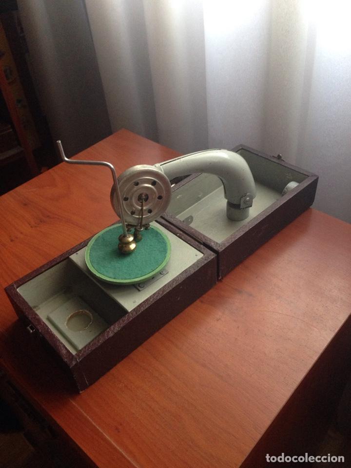Gramófonos y gramolas: Gramofono ccc cursos fino bilingüe - Foto 4 - 178594778
