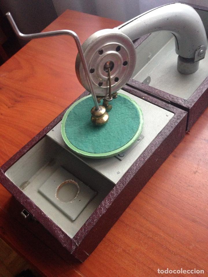 Gramófonos y gramolas: Gramofono ccc cursos fino bilingüe - Foto 5 - 178594778