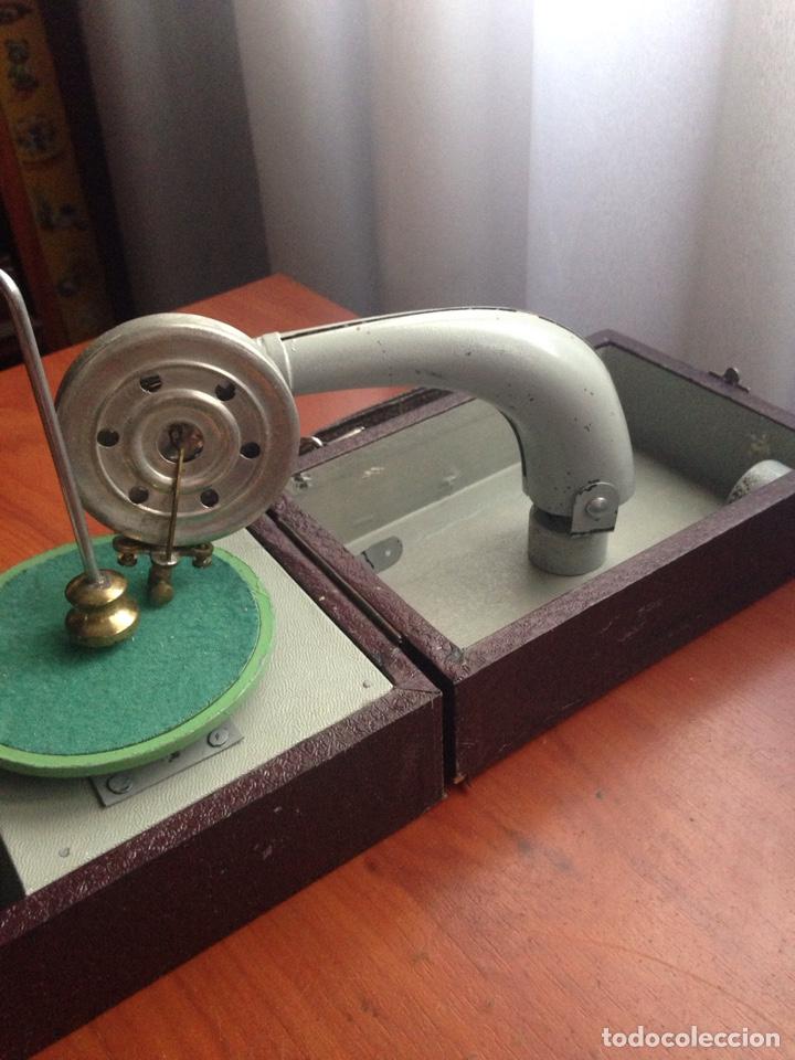 Gramófonos y gramolas: Gramofono ccc cursos fino bilingüe - Foto 6 - 178594778