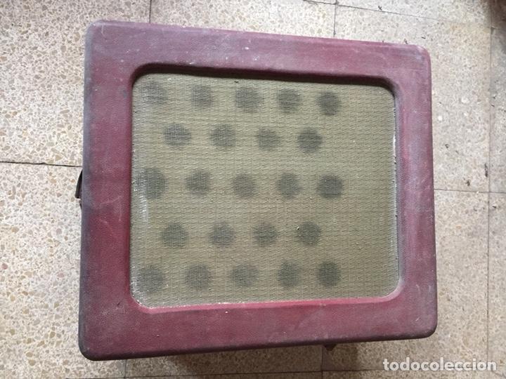 Gramófonos y gramolas: Tocadiscos de maleta antiguo vintage retro MELODIAL - Foto 5 - 178826201
