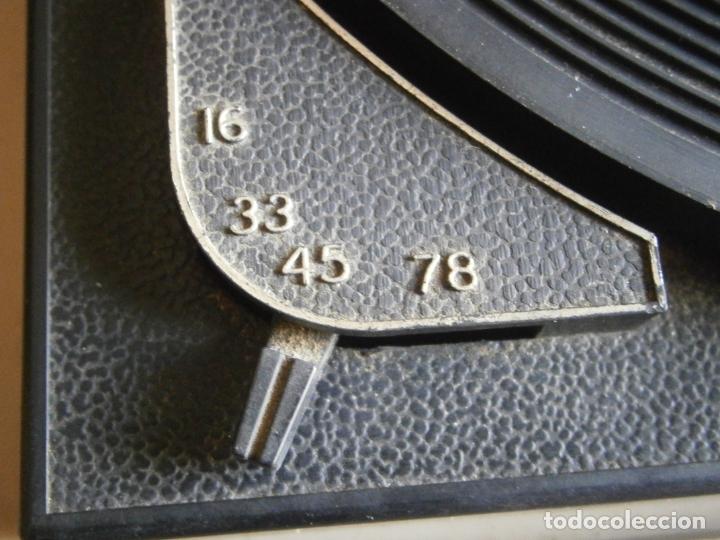 Gramófonos y gramolas: tocadiscos guateque vintage. de epoca - Foto 12 - 179077883