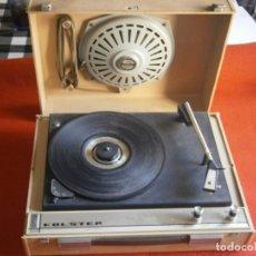 Gramófonos y gramolas: TOCADISCOS GUATEQUE VINTAGE. DE EPOCA. Lote 179077883
