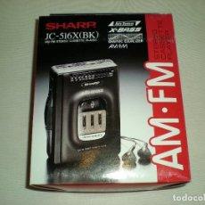 Gramófonos y gramolas: ANTIGUO WALKMAN VINTAGE SHARP. Lote 180967071