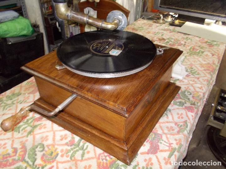 Gramófonos y gramolas: gramofono Funcionando - Foto 2 - 181495437