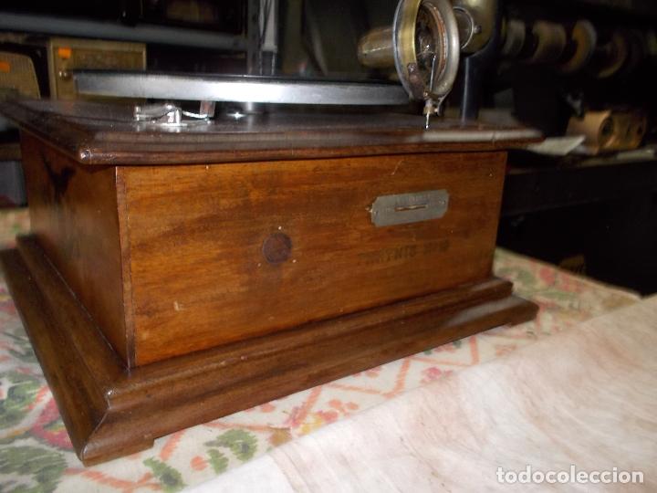 Gramófonos y gramolas: gramofono Funcionando - Foto 6 - 181495437
