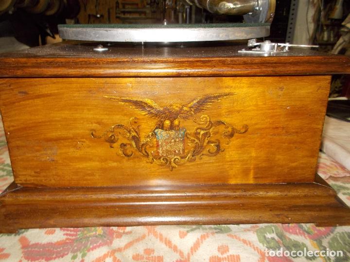 Gramófonos y gramolas: gramofono Funcionando - Foto 9 - 181495437