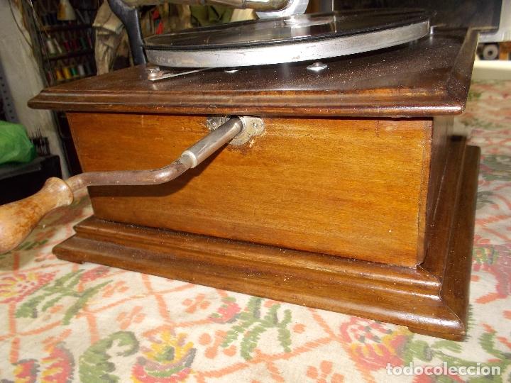 Gramófonos y gramolas: gramofono Funcionando - Foto 10 - 181495437