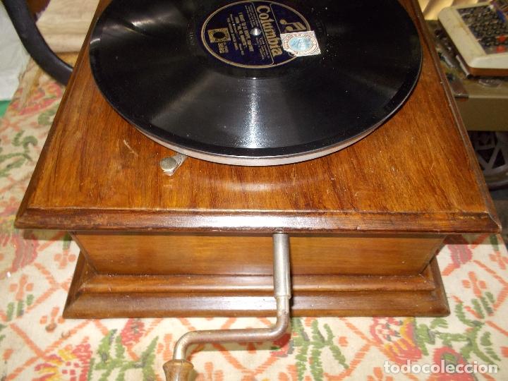 Gramófonos y gramolas: gramofono Funcionando - Foto 11 - 181495437