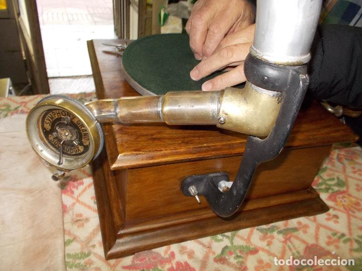 Gramófonos y gramolas: gramofono Funcionando - Foto 17 - 181495437