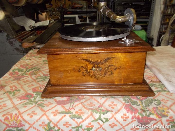 Gramófonos y gramolas: gramofono Funcionando - Foto 28 - 181495437