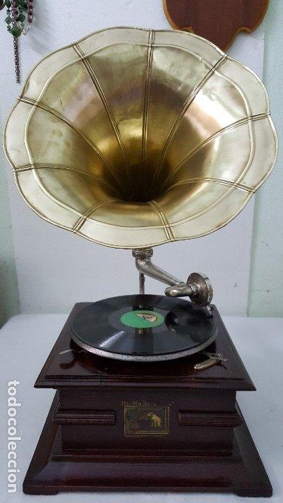 Gramófonos y gramolas: GRAMOFONO SSS MADE IN GERMANY - Foto 4 - 149398018