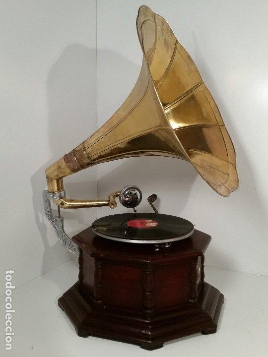 Gramófonos y gramolas: Gramola, funcionando - Foto 2 - 181951245
