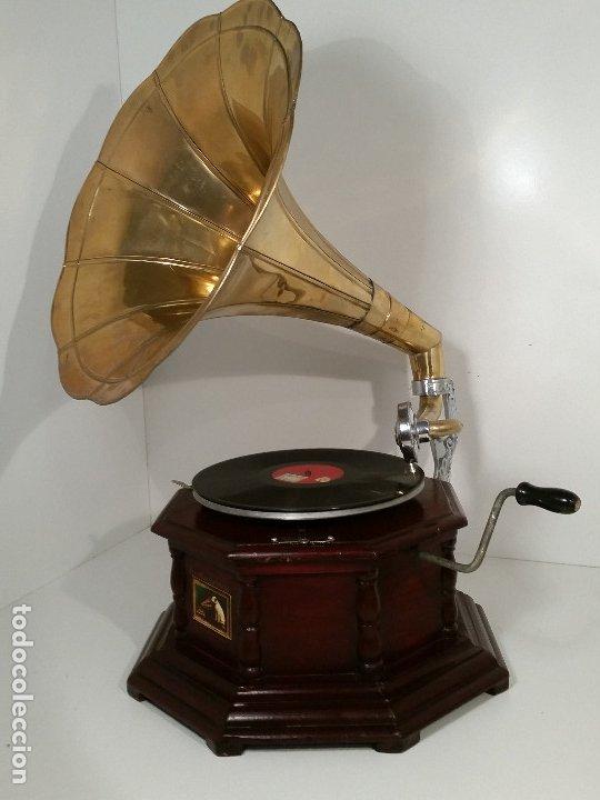 Gramófonos y gramolas: Gramola, funcionando - Foto 4 - 181951245