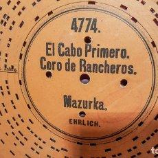 Gramófonos y gramolas: DISCO DE CARTÓN TROQUELADO S.XIXI. Lote 182276558