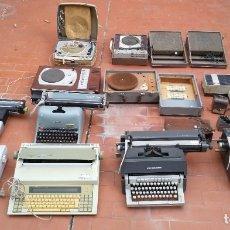 Gramófonos y gramolas: LOTE TECNOLÓGICO, TOCADISCOS, MAQ. ESCRIBIR. Lote 183200672