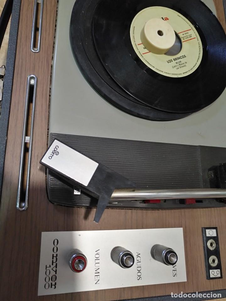 Gramófonos y gramolas: Tocadiscos Portatil Maleta COSMO modelo Conver 1000 - Foto 2 - 183466370
