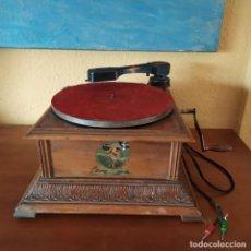 Gramófonos y gramolas: GRAMÓFONO PATHE.. Lote 183554286