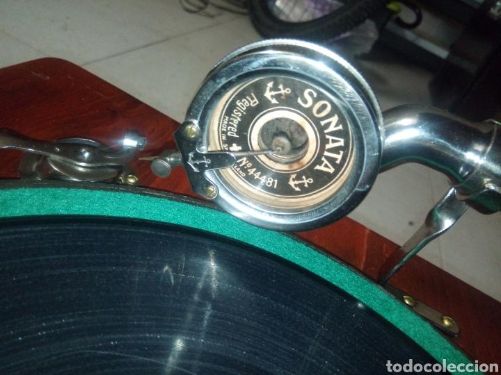 Gramófonos y gramolas: ESPECTACULAR GRAMÓFONO DE MADERA CIRCA 1920 ENVIO GRATIS!!!! - Foto 13 - 185660433