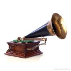Gramófonos y gramolas: ANTIGUO GRAMÓFONO VICTOR MONARCH AMERICANO PRE-DOG. USA, 1903. Lote 185695215