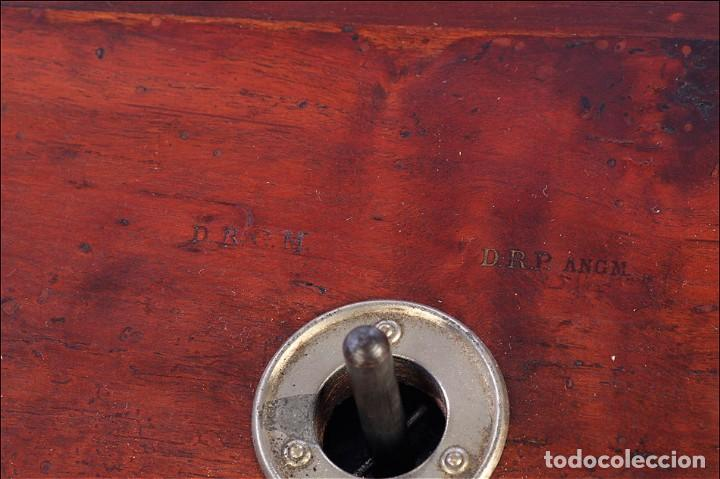 Gramófonos y gramolas: Raro Gramófono de Trompeta Carette. Restaurado. Alemania, Circa 1915 - Foto 16 - 185697127