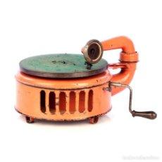 Gramófonos y gramolas: ANTIGUO GRAMÓFONO DE METAL INDUPHON. ALEMANIA, AÑOS 20. Lote 185697733