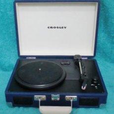Gramófonos y gramolas: TOCADISCOS CROSLEY. Lote 187208346