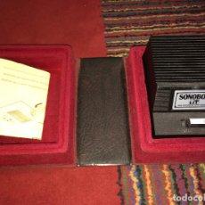 Gramófonos y gramolas: SISTEMA REPRODUCTOR DE AUDIO DISCOS - SONOBOX . Lote 187477973