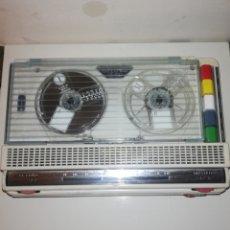 Gramofones e jukeboxes: MAGNETÓFONO GRABADOR GELOSO FUNCIONA. Lote 189221352