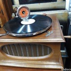 Gramófonos y gramolas: GRAMOFONO GRAMOLA FRANCES. Lote 189315190