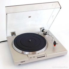Gramófonos y gramolas: PLATO TOCADISCOS SONY PS-T15 TURNABLE SYSTEM. Lote 189730521