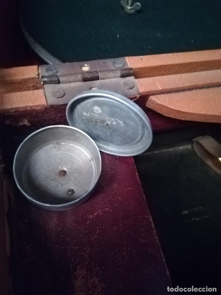 Gramófonos y gramolas: GRAMÓFONO DE MALETA CON BOCINA LA VOZ DE SU AMO. C. COPPEL.MUY RARO.FUNCIONANDO. - Foto 14 - 190160241
