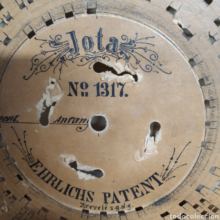 Gramófonos y gramolas: Disco de cartón para Ariston - Foto 5 - 190359548