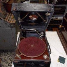 Gramófonos y gramolas: GRAMOFONO COLUMBIA FUNCIONANDO. Lote 190368990