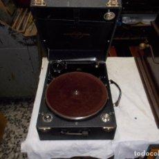 Gramófonos y gramolas: GRAMOFONO COLUMBIA FUNCIONANDO. Lote 190371128