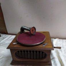 Phonographes: ANTIGUA GRAMOLA DE MANIVELA CIRCA 1830 FUNCIONA. Lote 191090283