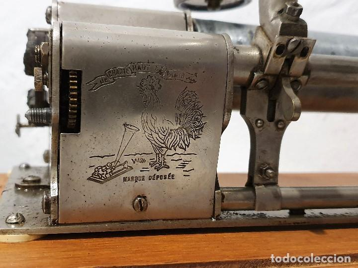 Gramófonos y gramolas: ANTIGUO FONOGRAFO PATHE ROYAL - Foto 2 - 193199198