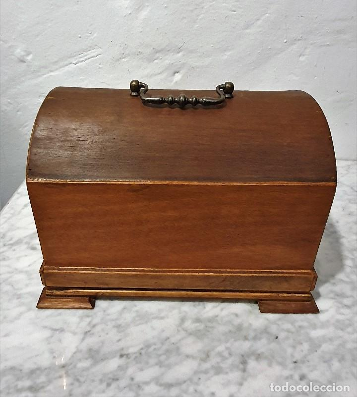 Gramófonos y gramolas: ANTIGUO FONOGRAFO PATHE ROYAL - Foto 6 - 193199198