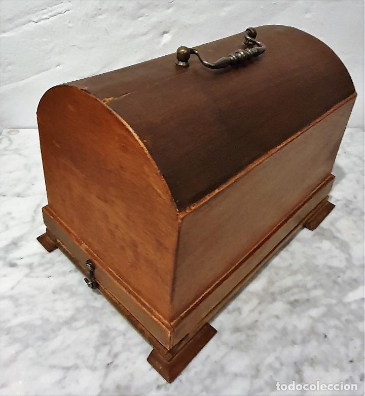 Gramófonos y gramolas: ANTIGUO FONOGRAFO PATHE ROYAL - Foto 7 - 193199198