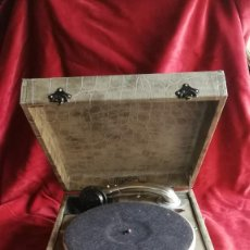 Gramofones e jukeboxes: GRAMOFONO PATHE DIAMOND, 1928, FUNCIONANDO, VER VIDEO Y FOTOS. Lote 193585500