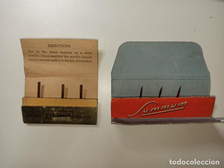 Gramófonos y gramolas: 2 cajitas.Lote de SOBRES de AGUJAS DE GRAMOFONO.Lote2 - Foto 2 - 194011623