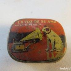 Gramófonos y gramolas: AGUJAS GRAMOFONO DE LA MARCA LA VOZ DE SU AMO. Lote 194113330