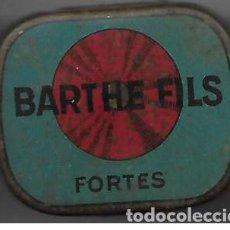 Gramófonos y gramolas: CAJA DE AGUJAS DE GRAMOFONO **BARTHE FILS - FORTES** CON AGUJAS . Lote 194208016