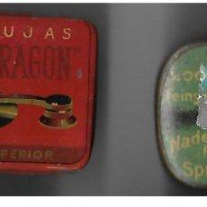 Gramófonos y gramolas: DOS CAJAS AGUJAS DE GRAMOFOGO ** NADELN SPRECHMASCHINEN - AL DRAGON ** CON AGUJAS. Lote 194208370